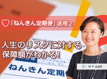 「ねんきん定期便」活用2:人生のリスクに対する保障額がわかる!
